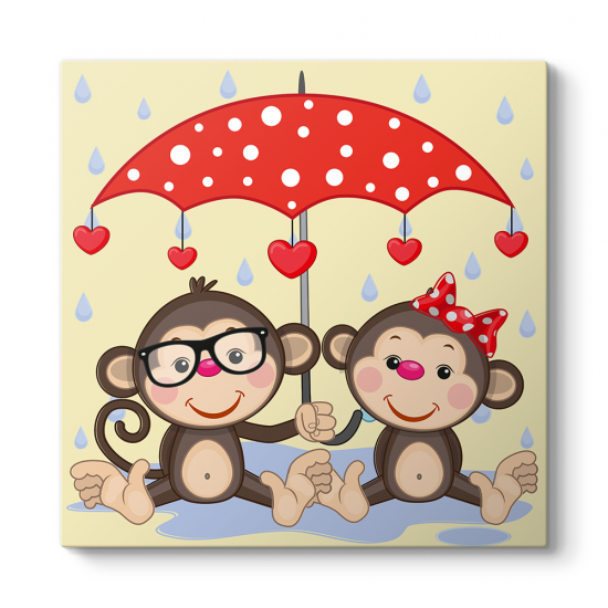 Sevimli Maymunlar Tablosu