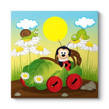 Tırtıl ve Uğur Böceği Tablosu