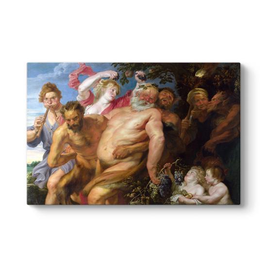 Anthony van Dyck - Sarhoş Silenus ve Satyrs