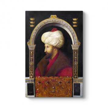 Gentile Bellini - Fatih Sultan Mehmet Portresi