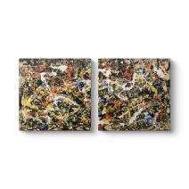Jackson Pollock - Yakınsama Kanvas Tablo