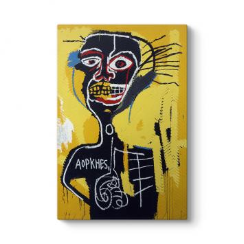 Jean-Michel Basquiat - Cabeza Tablosu