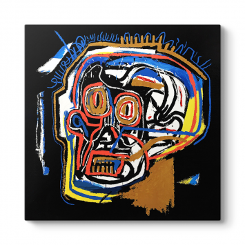 Jean-Michel Basquiat - Head Tablosu