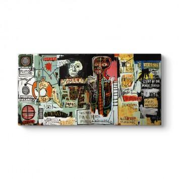 Jean-Michel Basquiat - Notary Kanvas Tablo