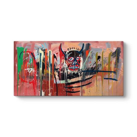 Jean-Michel Basquiat - Panorama Kanvas Tablo