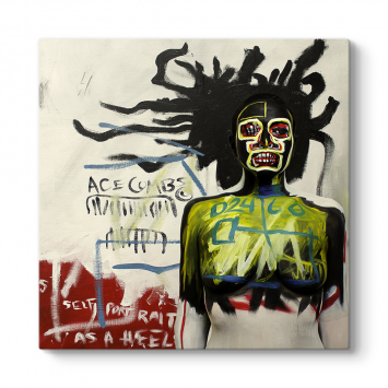 Jean-Michel Basquiat - Self Portrait As A Heel