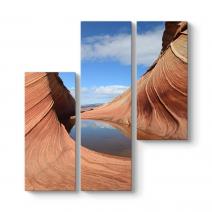Kanyon Kayalıkları Kanvas Tablo