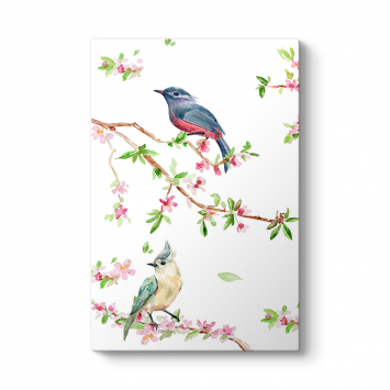 Modern Tasarım Kuşlar Tablosu