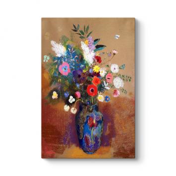 Odilon Redon - Çiçek Buketi Kanvas Tablo
