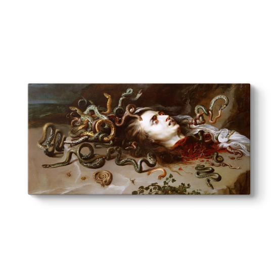 Peter Paul Rubens - Medusa Kanvas Tablo