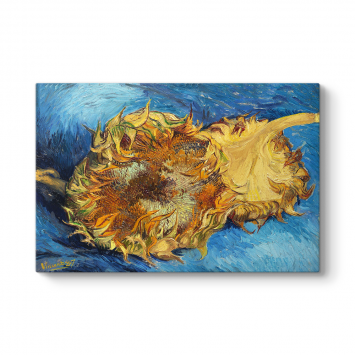 Vincent Van Gogh - Ayçiçeği Kanvas Tablosu