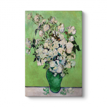 Vincent Van Gogh - Vazoda Beyaz Güller