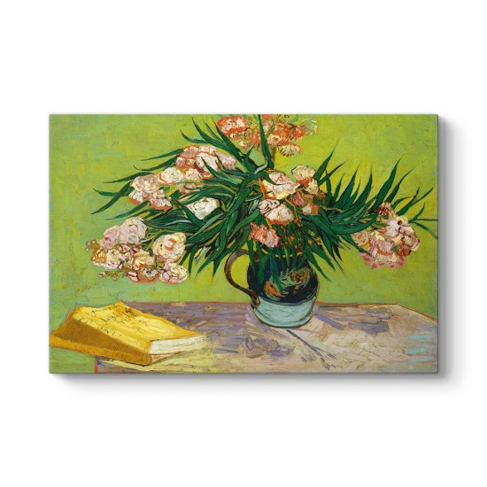 Vincent Van Gogh - Zakkumlar Kanvas Tablo