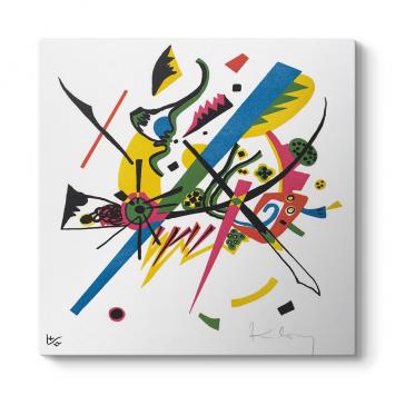 Wassily Kandinsky - Küçük Dünya Tablosu