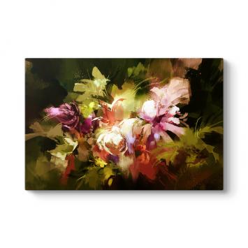 Soyut Çiçekler Buketi