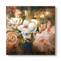 Dijital Çizim Çiçekler Tablosu
