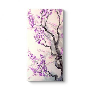 Mor Japon Ağacı Tablosu