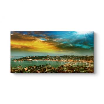 İstanbul Cityscape Tablosu