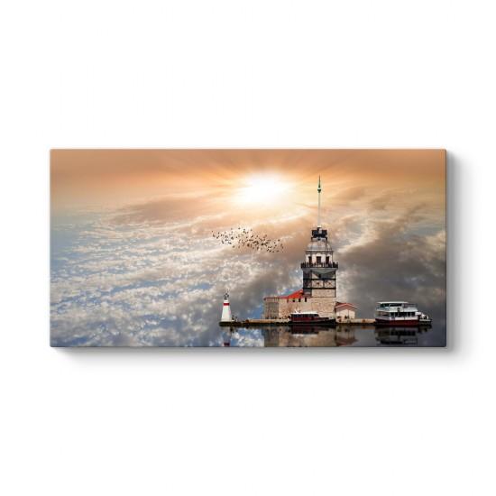 İstanbul - Kız Kulesi Tablosu