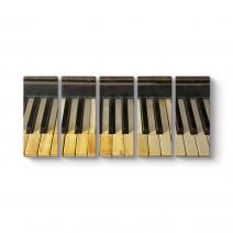 Eski Piyano Tuşları Tablosu