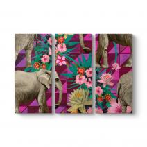 Çiçekler ve Filler Tablosu