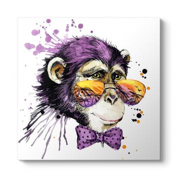 Sevimli Maymun Tablosu