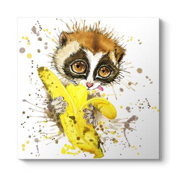 Sevimli Lemur Tablosu