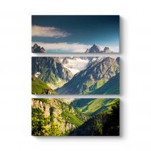 Dağ Manzarası Tablosu
