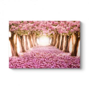 Pempe Çiçekli Ağaçlar Tablosu