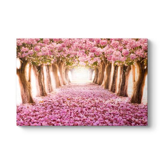 Pempe Ciçekli Ağaçlar Tablosu