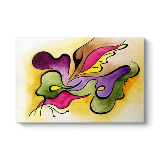Malerei Soyut Tablo