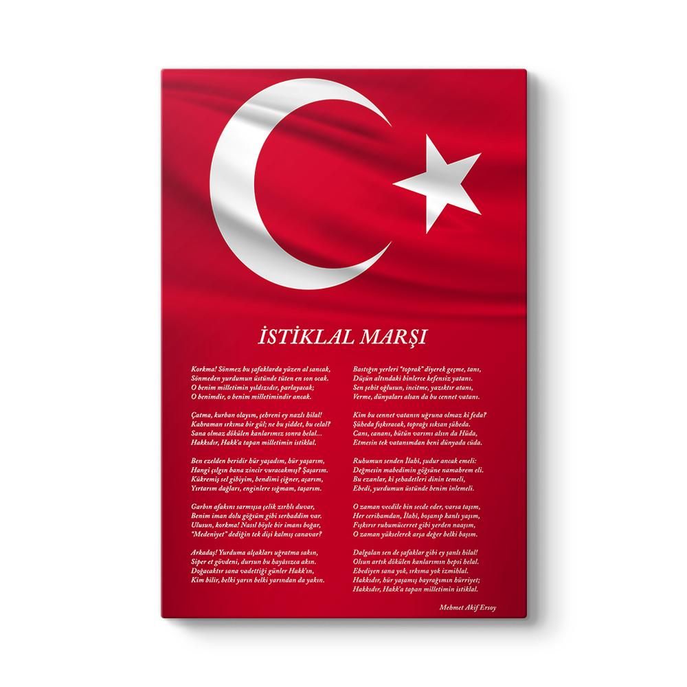 İstiklal Marşı Tablosu
