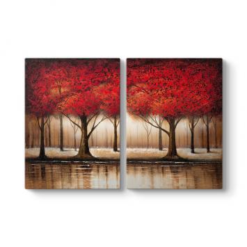 Kızıl Orman Ağaçları Tablosu