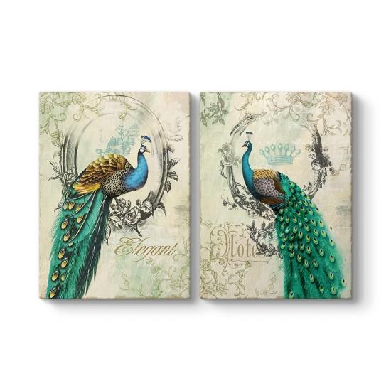 Tavus Kuşları Tablosu