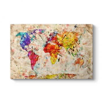 Sanatsal Dünya Haristası Tablosu