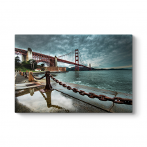 HDR Golden Gate Tablosu