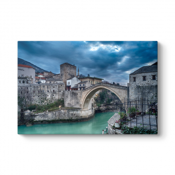 Mostar Köprüsü Tablosu