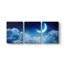 Ay ve Bulutlar Tablosu
