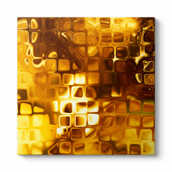 Gold Squares Tablo