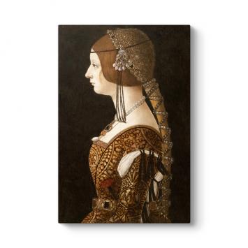 Giovanni Ambrogio - Bianca Maria Sforza Tablosu