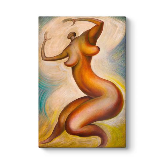 Diego Rivera - Dance to the Sun Tablosu