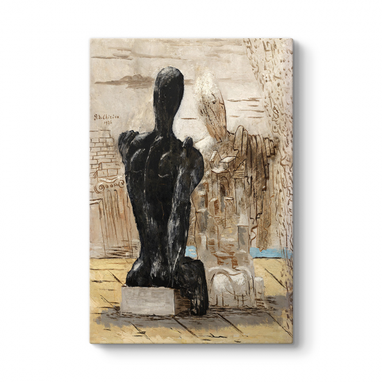 Giorgio de Chirico - The Mysterious Tablosu