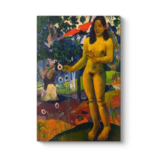 Paul Gauguin - Delightful Land Tablosu