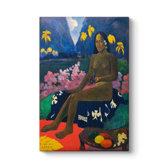 Paul Gauguin - The Seed of the Areoi Tablosu
