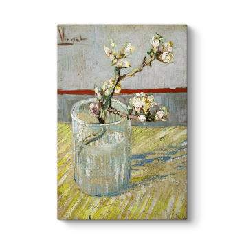 Vincent Van Gogh - -Sprig of Flowering Tablosu