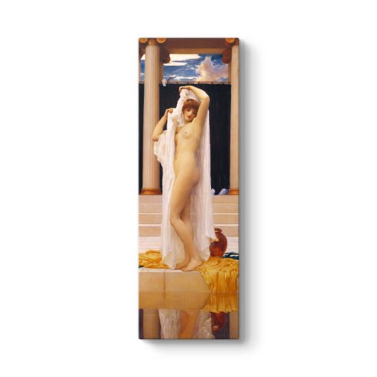 Frederic Leighton - The Bath of Psyche Tablosu