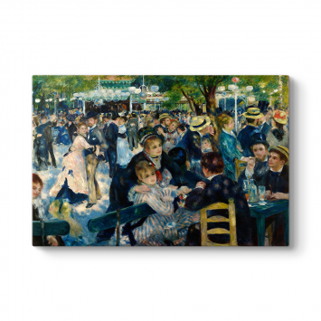 Auguste Renoir - Dance at Le Moulin Tablosu