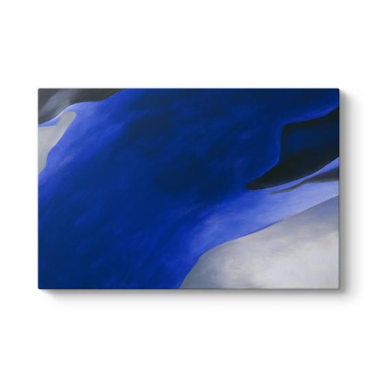 Georgia OKeeffe - Blue Tablosu
