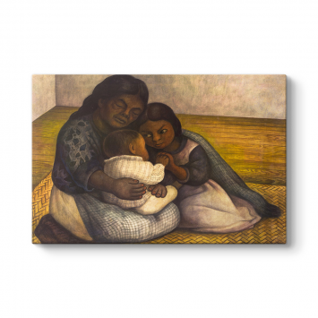 Diego Rivera - The Family Tablosu