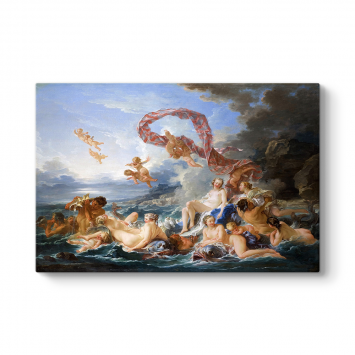 Francois Boucher - The Triumph of Venus Tablosu